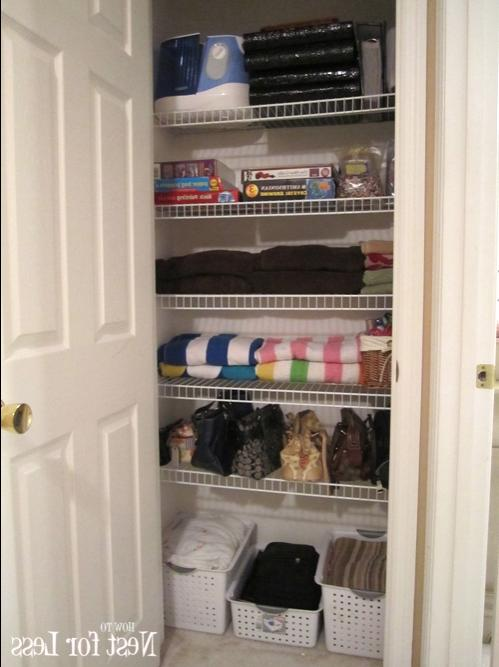 I Feel Like The Hour I Spent Cleaning Out My Hall Linen Closet.