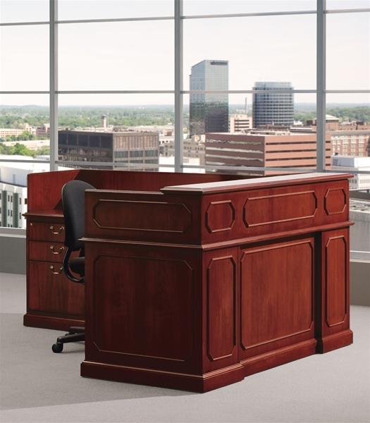 finding a quality used reception desk for your office in tampa