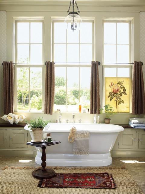 southern living idea house farmhouse bathroom