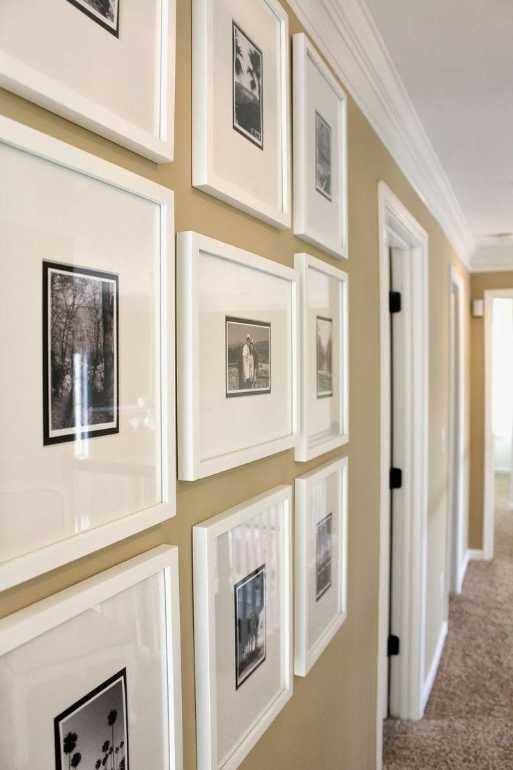 TiffanyD: Creating My Gallery Frame Hallway...  a few decor...