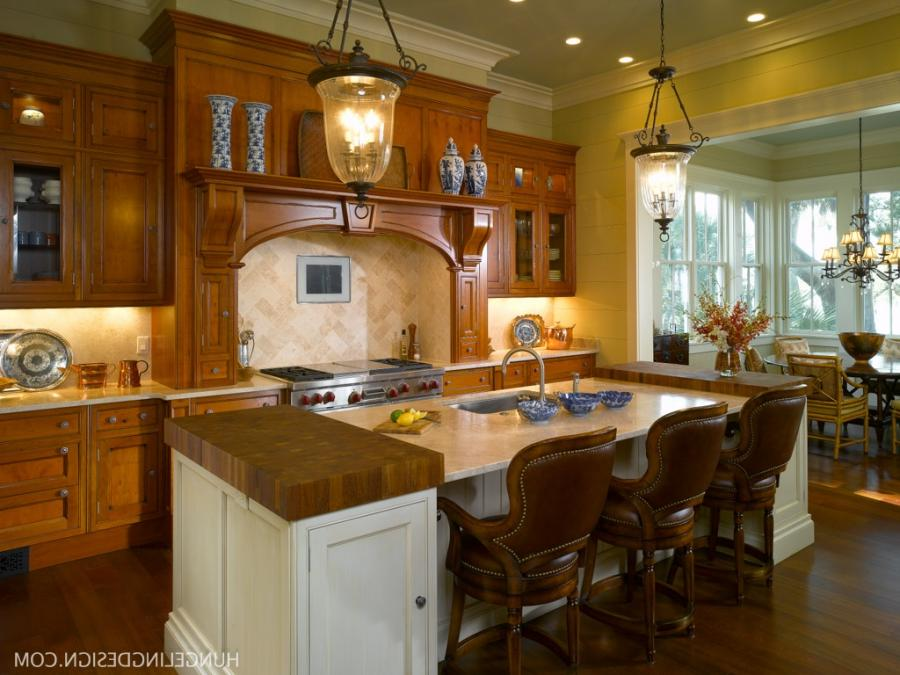 Luxury Kitchen Design in Palmetto Bluff, SC by Hungeling Design