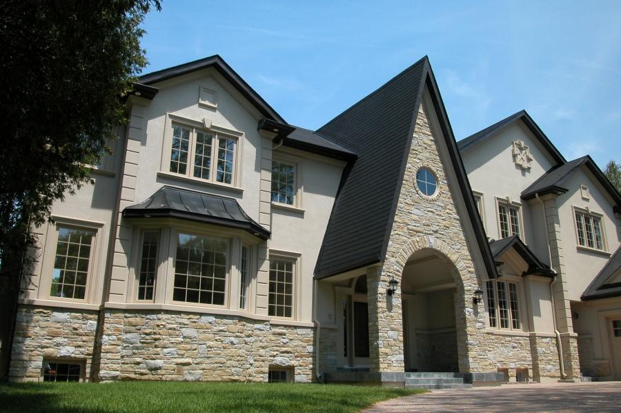 Stone stucco photos for Stucco stone exterior designs