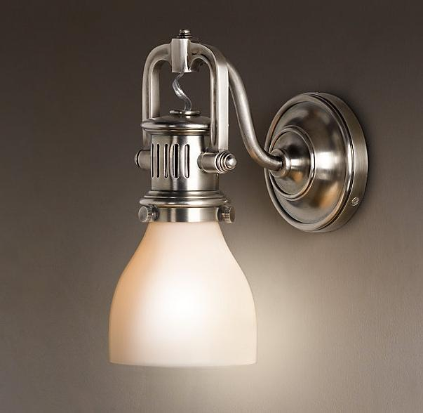 1920s Factory Sconce...