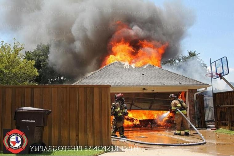 Plano house fire. First Response Photography