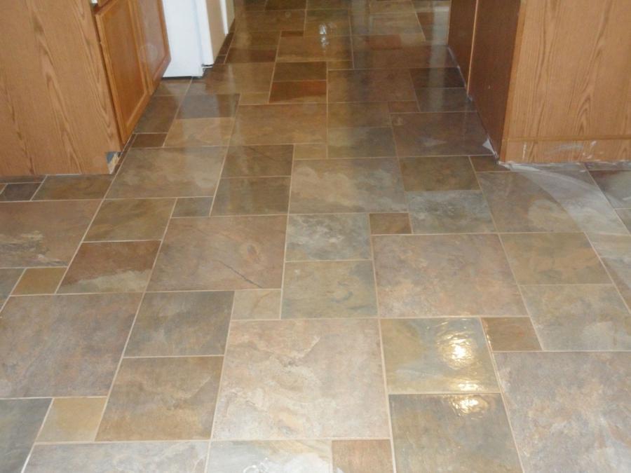 Tile Floor Installation Photos