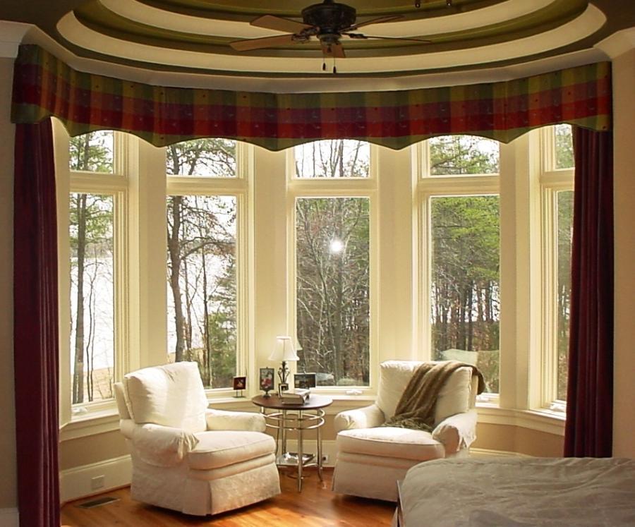 Photos Of Bay Window Treatments: Interior Photos Bay Window Treatments
