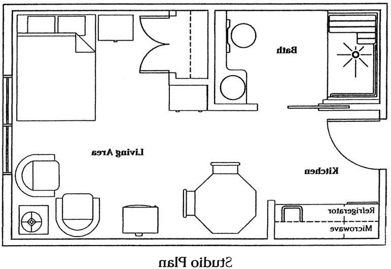 Small floor plan photos for Understanding blueprints
