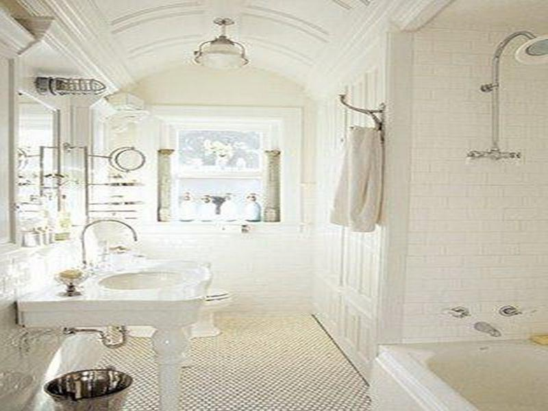 Elegant Country Bathroom Design Ideas Lovely White French Country...