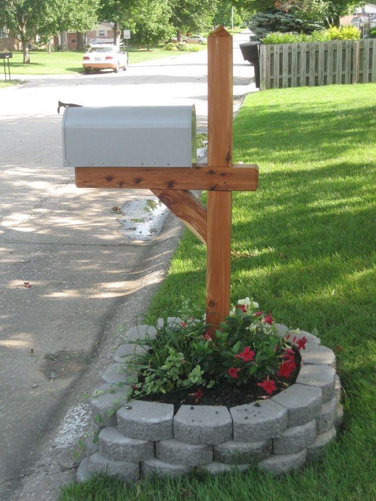 Flowers Around Mailbox Photos