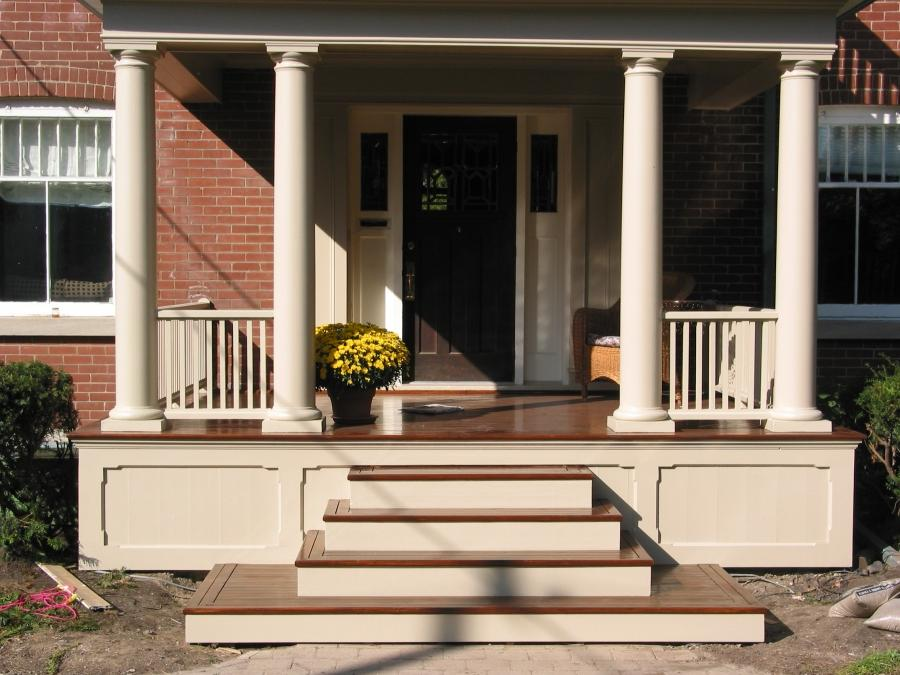 Front Porch Stairs Photos