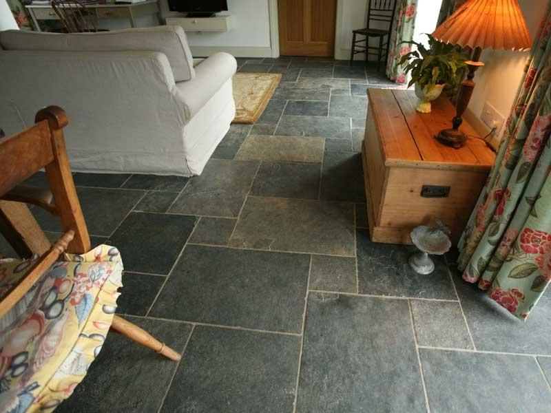 Fell Grey slate floor tiles