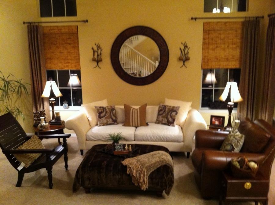 Room With Nothing In It: Ralph Lauren Living Room Photos