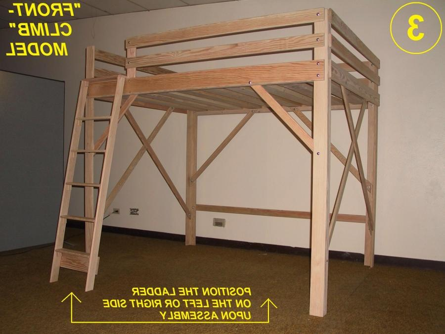Loft Bed, Twin, Full, Queen, King Extra Long Loft Beds, Bunk... source