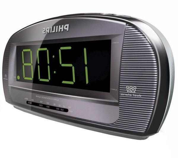 how to set alarm on philips clock radio