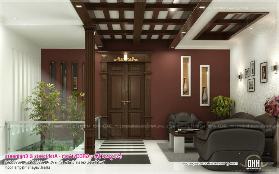 Indian home interior design photos middle class interior for Indian home exterior design photos middle class