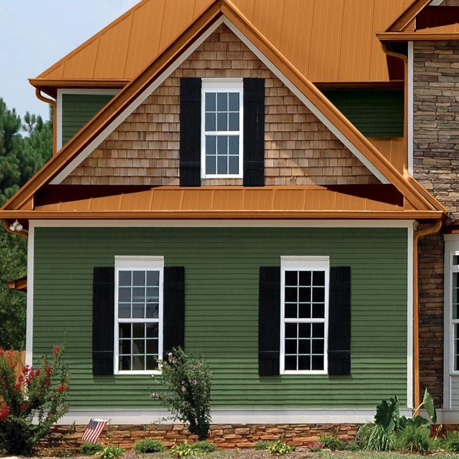 Vinyl siding styles photos for Types of house siding materials