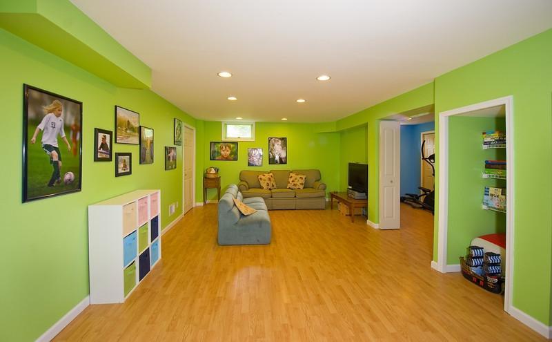 Basement Playroom Photos