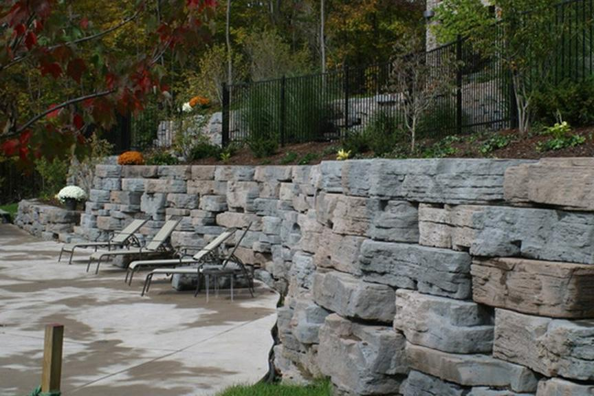 landscaping rock quincy il landscape rock rake and blade