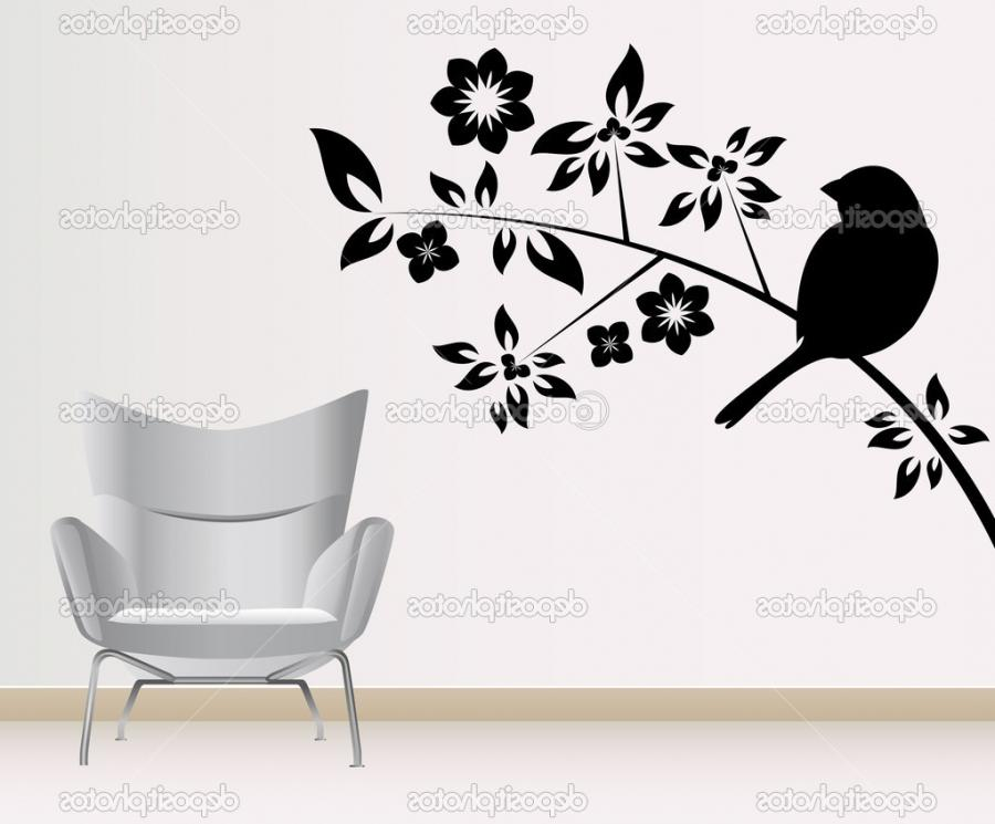 Wall decoration vector u2014 Vector by bogalo