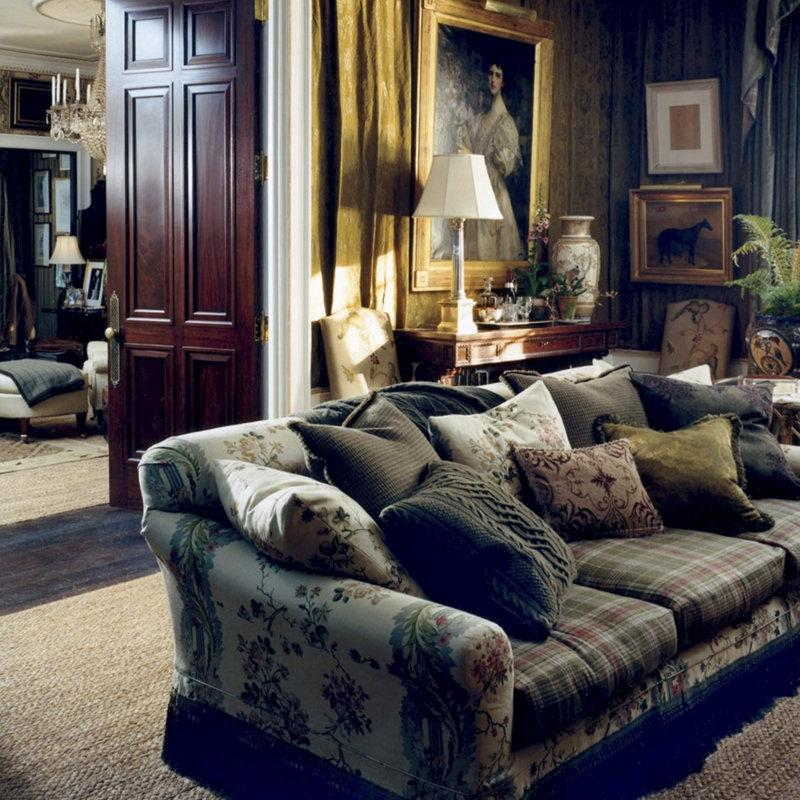 Ralph Lauren Living Room Photos