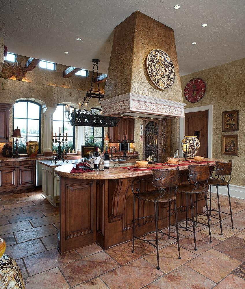 Mediterranean style kitchen photos for Mediterranean style kitchen photos