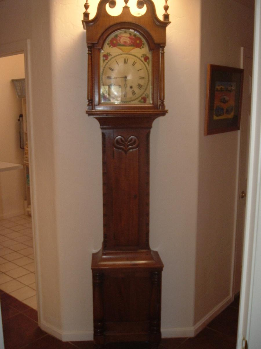 Antique Grandfather Clock Photos
