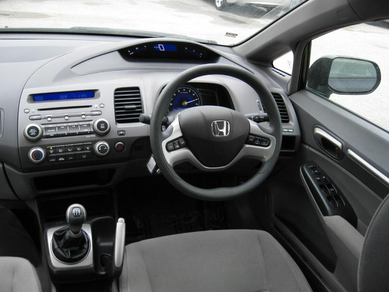 2007 honda civic interior photos. Black Bedroom Furniture Sets. Home Design Ideas
