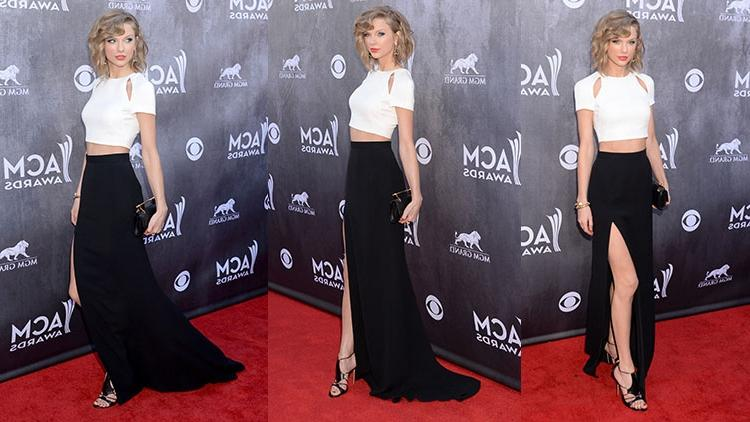 When Taylor Swift stepped onto the red carpet for the 49th Annual...