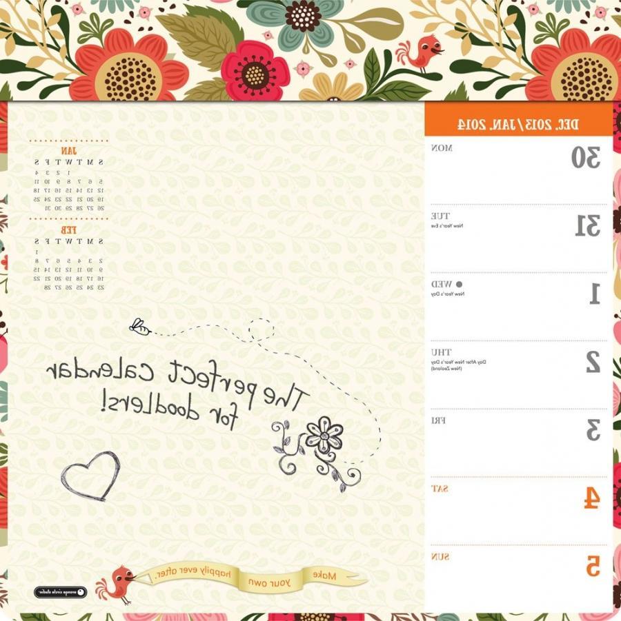 Weekly Photo Desk Calendar