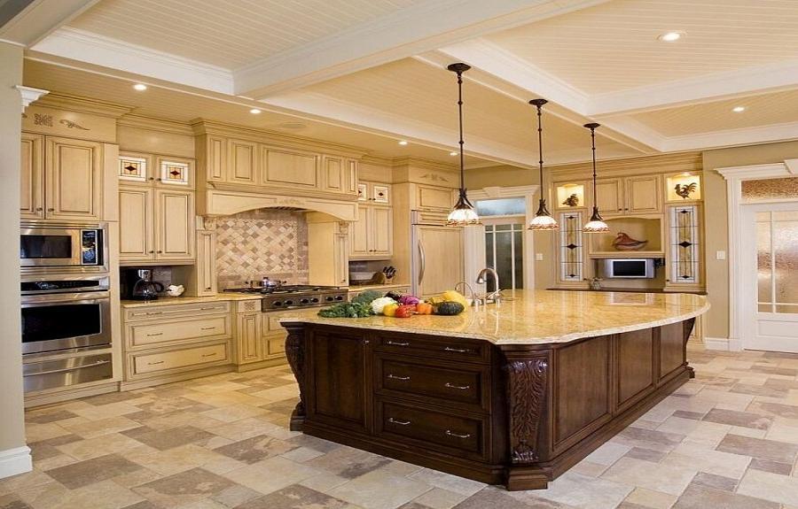 Luxury kitchen designs photo gallery for Kitchen redesign ideas