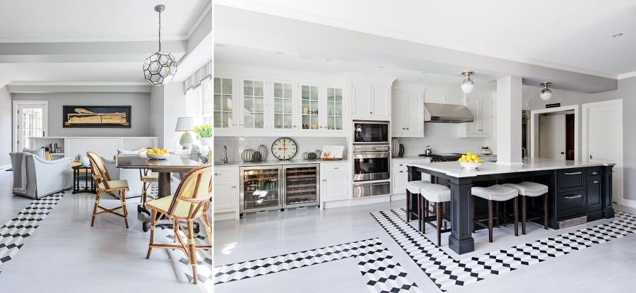 ... Interiors Photography Montreal: Kitchen and Dining room in...