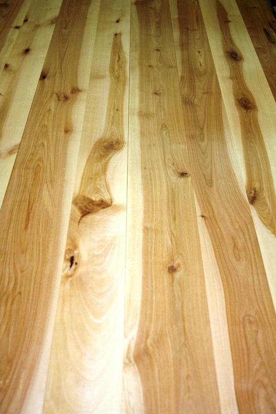 Yellow birch flooring photos