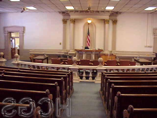 The Henry County Circuit Court Room 1868 - 2001