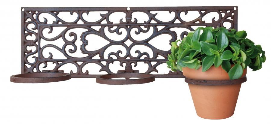 Flower Pot Photo Holder