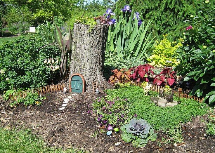 Fairy House Photo Tree Trunk