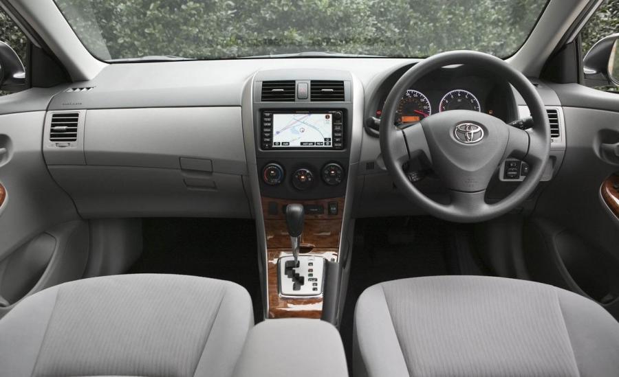 2009 Toyota Corolla Interior Photos