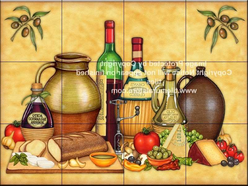 decorative kitchen mural tile wall wall decor source