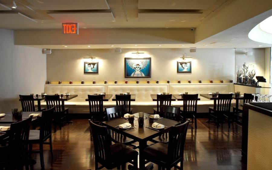Interior design for restaurants photos