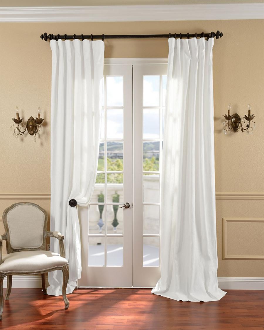 French Door Curtain Photos