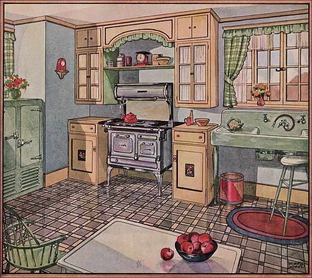 1928 Kitchen Photos