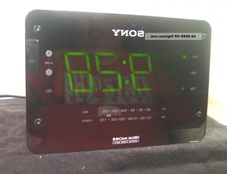 how to set time on sony dream machine icf c414