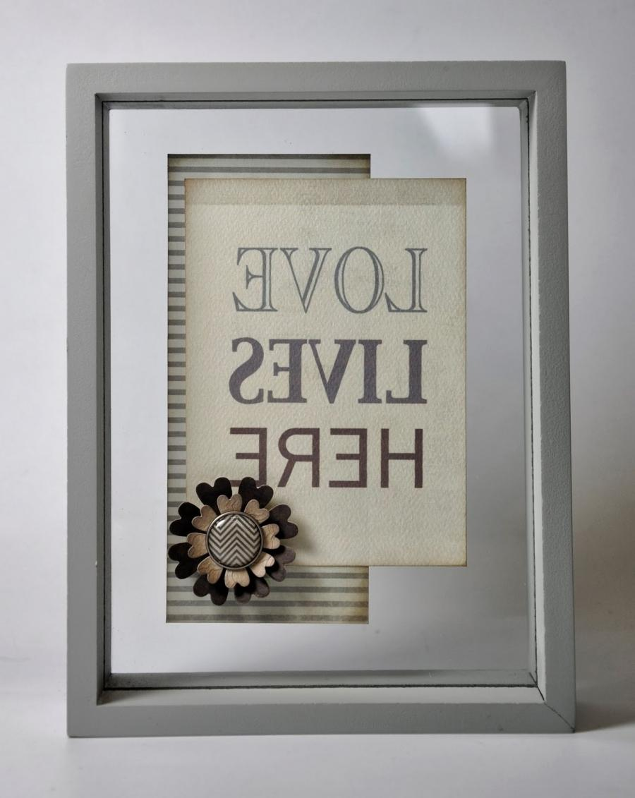 glass photo frame uk
