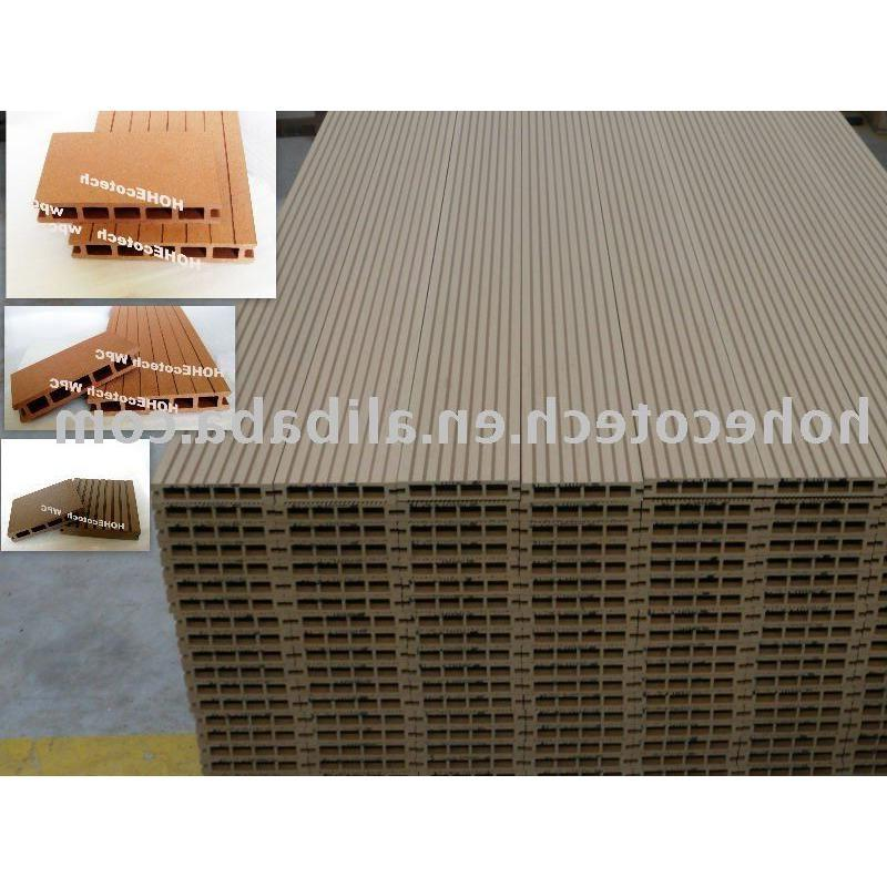Care free Anti Slip Durable Waterproof Veranda Composite Decking