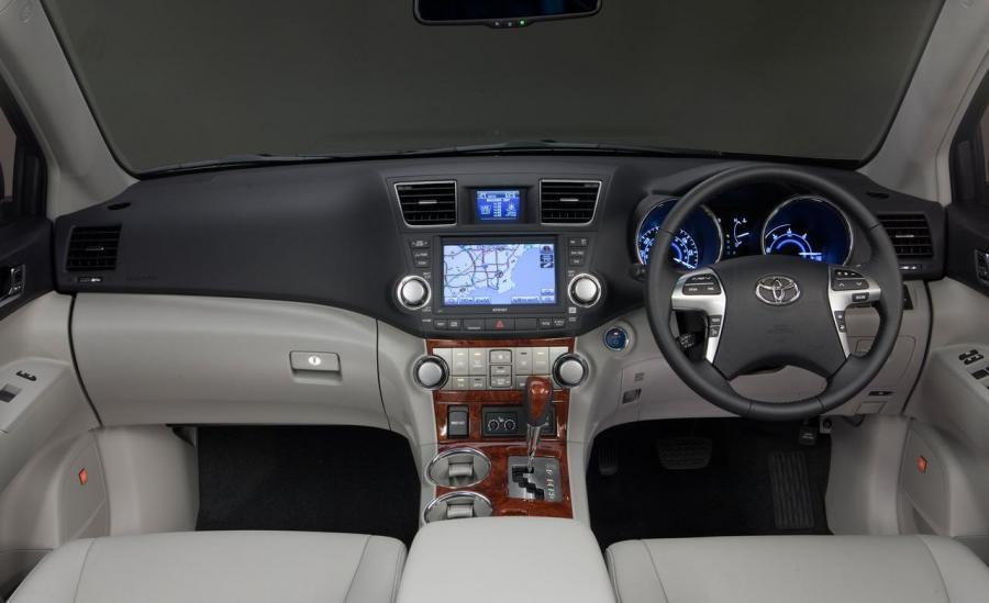2008 highlander interior photos - Toyota highlander hybrid interior ...