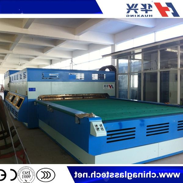 Flat And Curve Fan Convection Glass Tempering Furnace