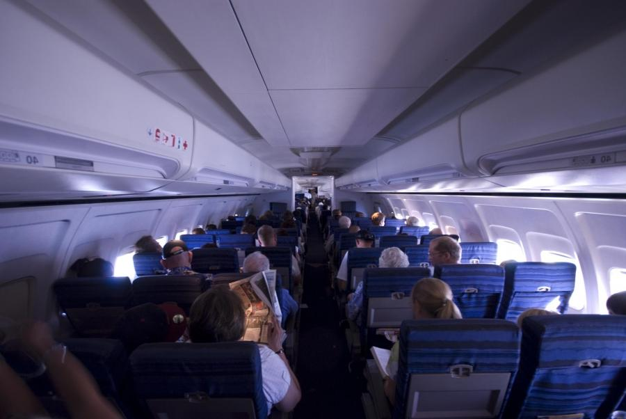 757 Airplane Boeing Interior Photo