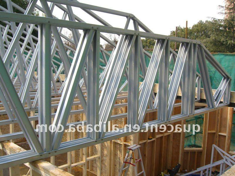 Roof Truss Assembly Photos