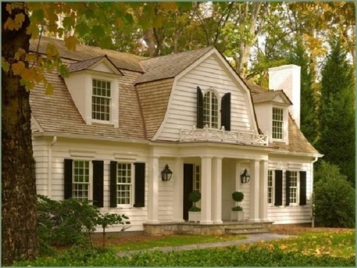 Dutch colonial house plans with photos for Dutch colonial plans