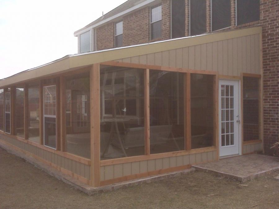 Enclosed Porch Plans Photos