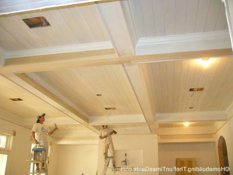 Another cool feature about this ceiling is that there is a home...